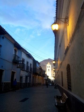 Une rue de Potosi