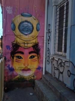 Peinture d'Anis88 à Valparaiso
