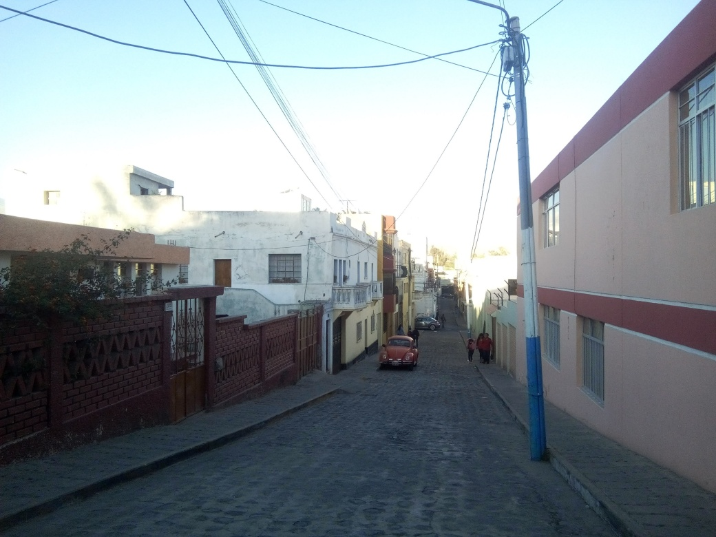 Ruelle à Arequipa au Pérou