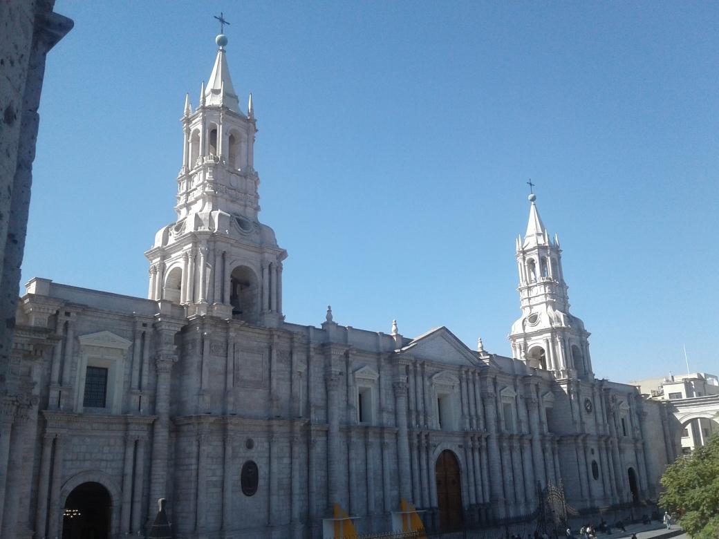 Cathédrale d'Arequipa au Pérou