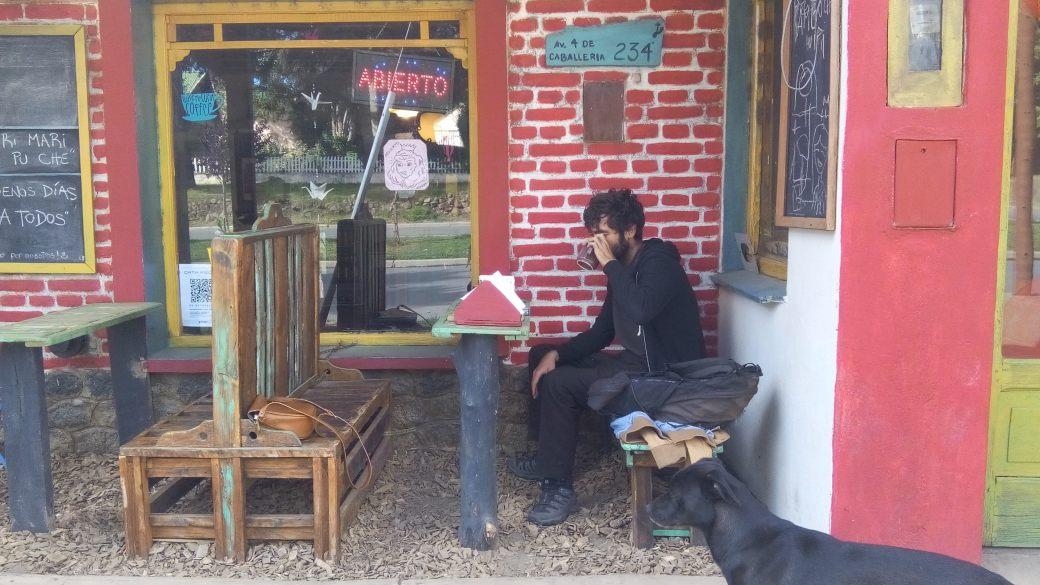 Café bar la Sangucheria à Aluminé en Argentine