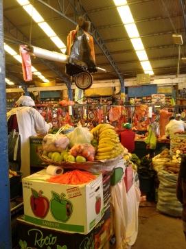 Marché campesino à Sucre en Bolivie