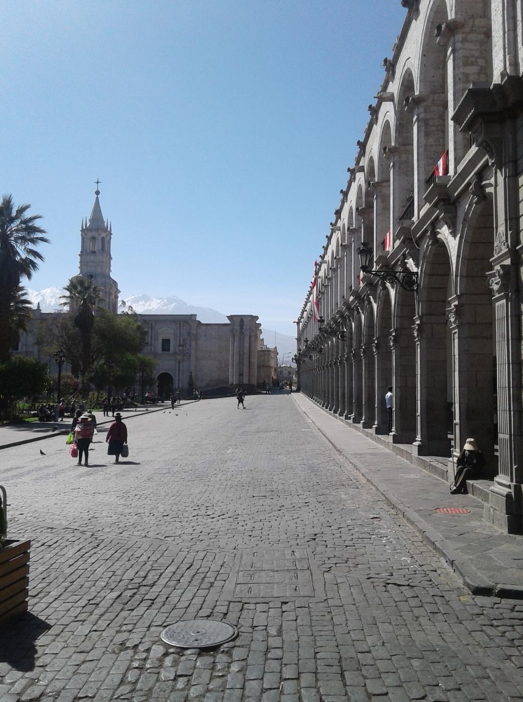 Place aux armes d'Arequipa au Pérou