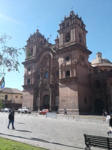 Iglesia De La Compania De Jesus à Cusco au Pérou
