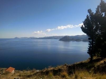 Le lac titicaca à copacabana