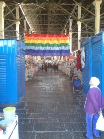 Entrée du mercado san pedro à cusco