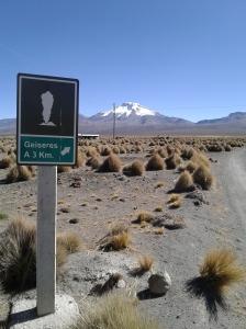 Chemin pour se rendre aux geysers