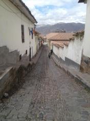 Ruelle dans le ville de Cuzco au Pérou